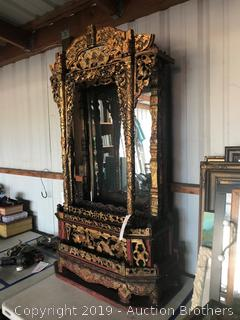 Gilt Mirrored Shrine