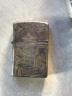 Oriental Sterling 950 lighter