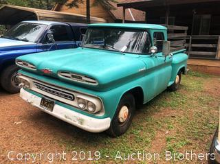 1961 Chevy Apache Truck Stepside