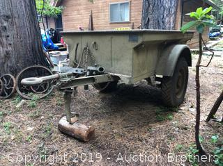 1948 Military Jeep Trailer Utility 1/4 Ton