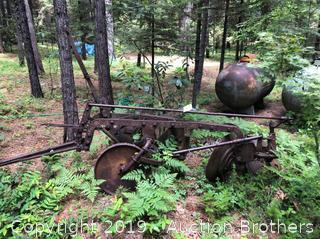 Antique Disc Harrow/Field Ridger.