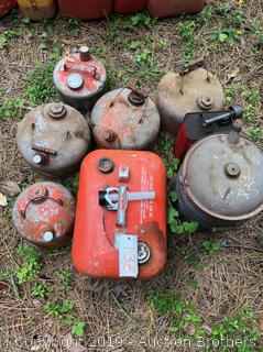 All Size Metal Gas Cans