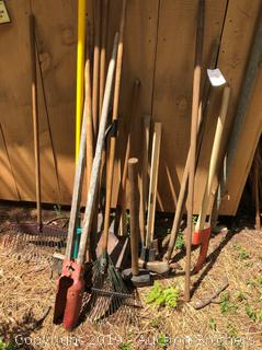Huge Lot Of Shed Tools