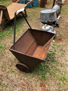 Old Metal Cart