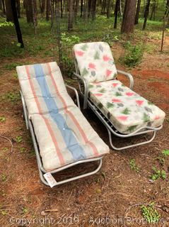 1960's Lawn Chairs