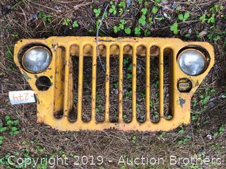 Military Jeep Front Grill