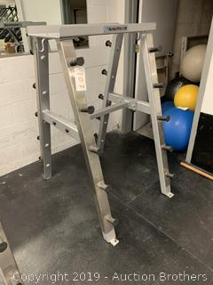 Rack Weight Bar Station