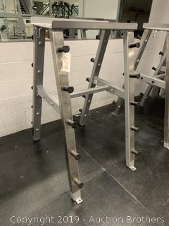 Rack Weight Bar Station