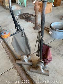 Eureka and Bee-Vac vacuums
