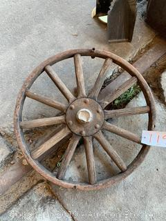Antique Ford Wheel