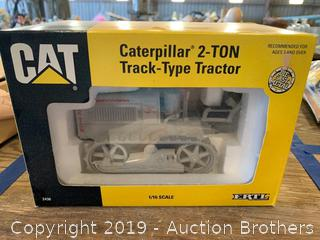 Caterpillar tractor toy