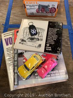 VW manual, toys and more