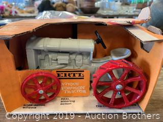 Antique Ertl tractor toy