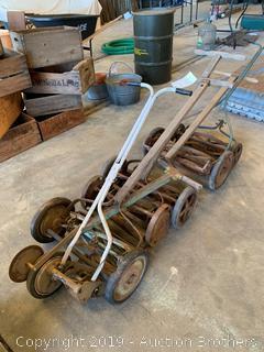 Antique Push Mowers