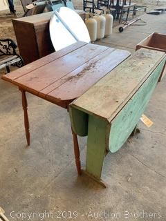 Two Antique tables