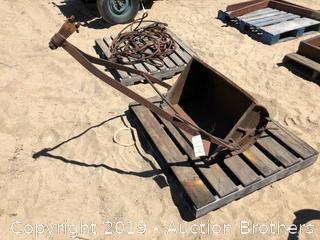 Metal Manure Scrapper