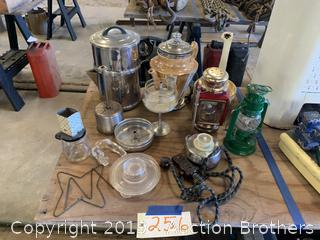 Glass Ware and Collectibles