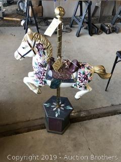 4ft carousel horse