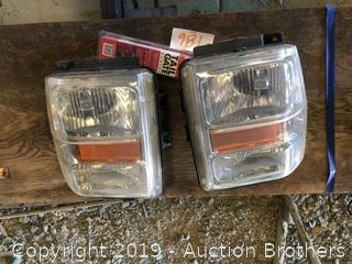 08-10 FORD F250 And Up Headlights