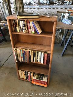 Book Shelf With Tons Of Books